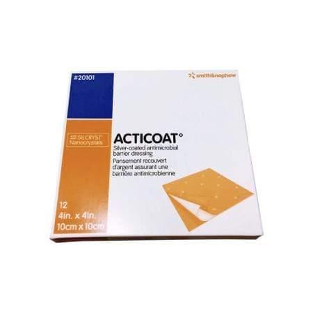 Smith & Nephew Acticoat Apósito Antimicrobiano Con Plata De 10 X 10 CM – 2