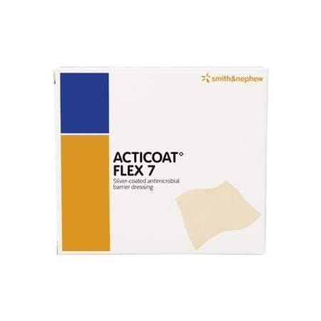 Smith & Nephew Acticoat Flex 7 Apósito Antimicrobiano Con Plata Flexible 40 X 40 CM – 2