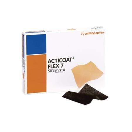 Smith & Nephew Acticoat Flex 7 Apósito Antimicrobiano Con Plata Flexible 40 X 40 CM – 3