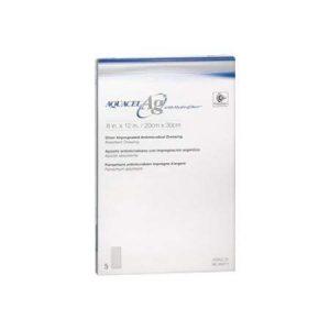 Aquacel Ag ConvaTec Apósito De Hidrofibra Con Plata Iónica De 20 X 30 CM Caja