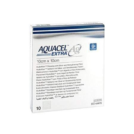 Aquacel Ag Extra ConvaTec Apósito De Hidrofibra De 10 X 10 CM-2