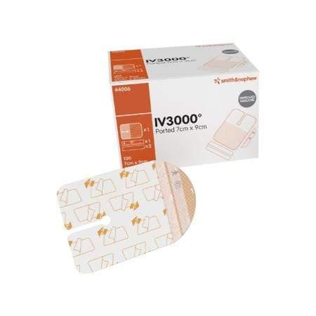 Smith & Nephew Opsite IV 3000 Apósito Transparente De Catéter Estéril De 7 X 9 CM – 3